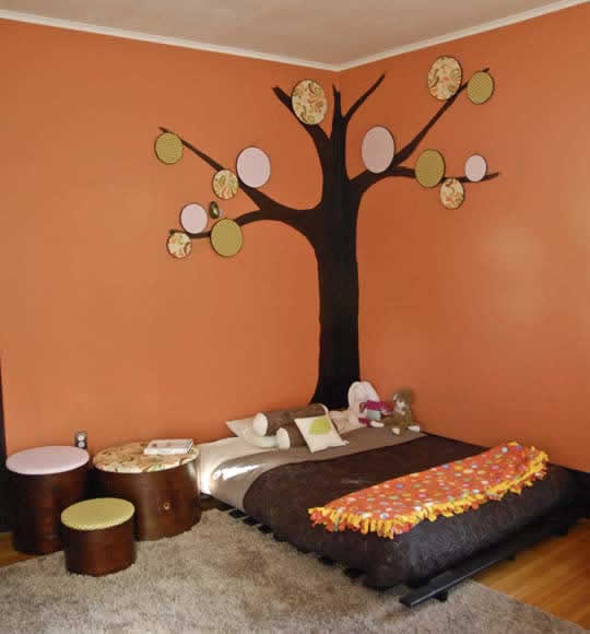 la chambre de b b montessori. Black Bedroom Furniture Sets. Home Design Ideas