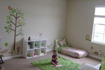 La chambre de Bébé Montessori