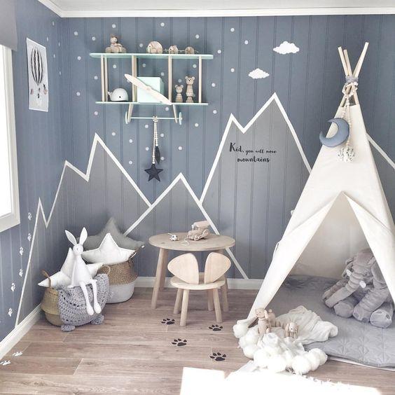 Chambre Scandinave Enfant