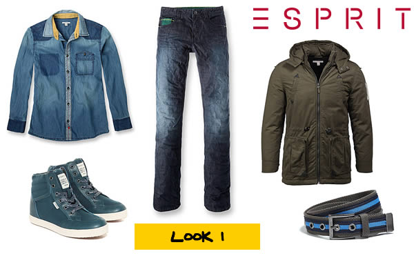 look collection gar�ons Esprit