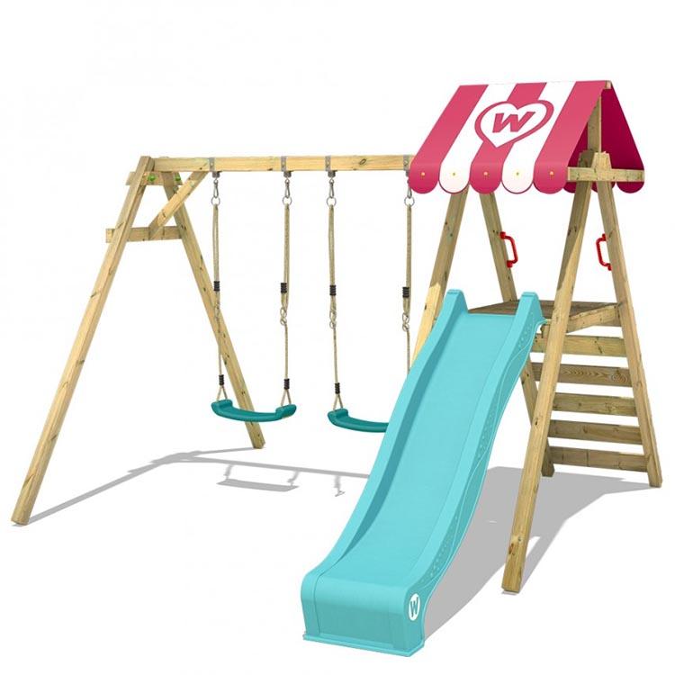Achat d'un portique : les critères de choix (âge, taille, bois, acier)